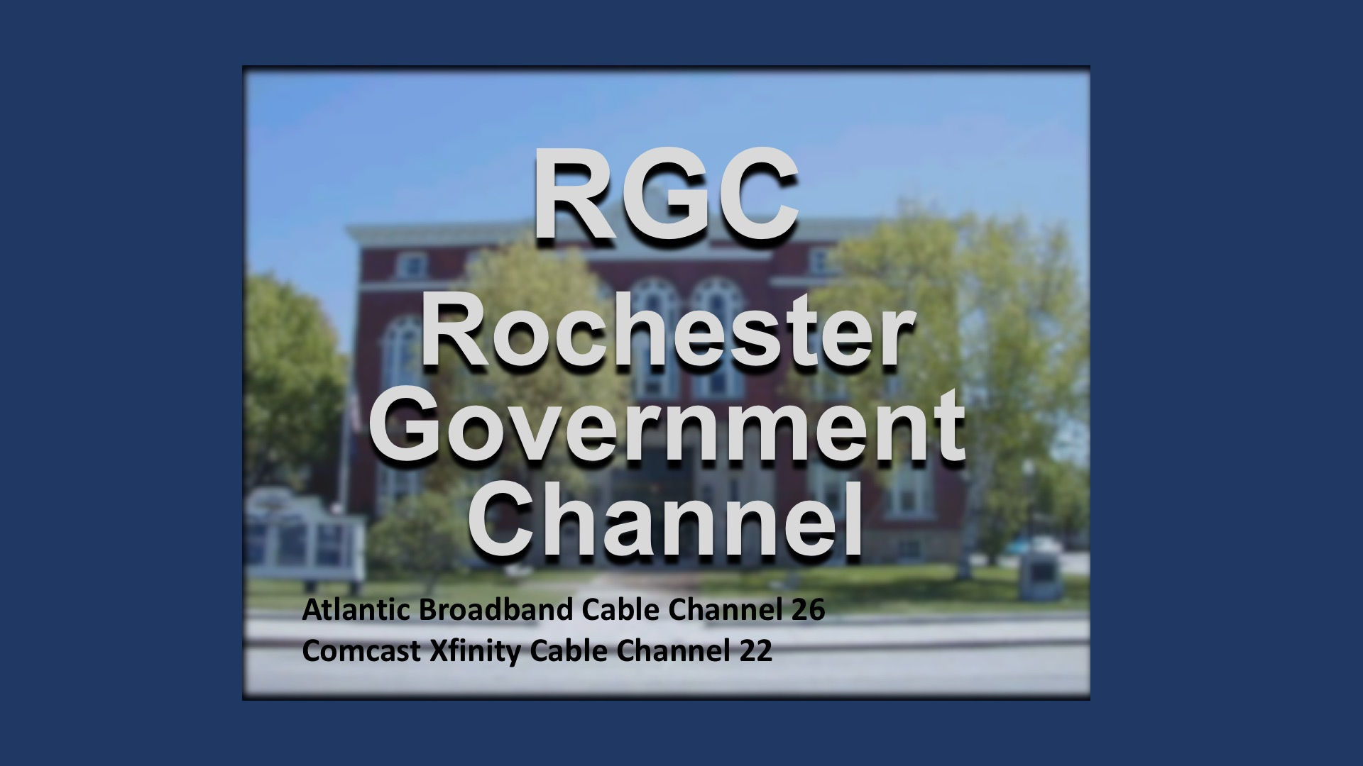 Rochester Government Channel